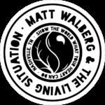 Matt Walberg & The Living Situation Circle Logo - Reversed